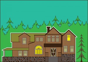 home inspection maryland - illustration of a typical home