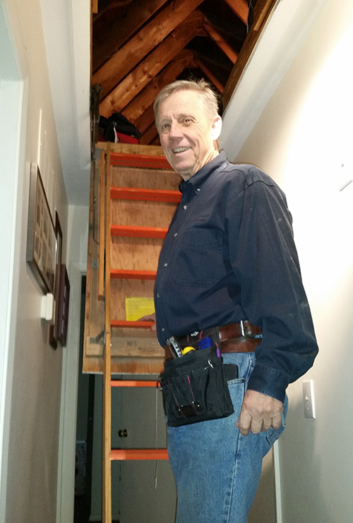 Home Inspector Keith Henze of Advocate Property Inspections